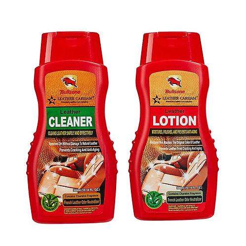 Bullsone Carejam Leather Cleaner & Lotion