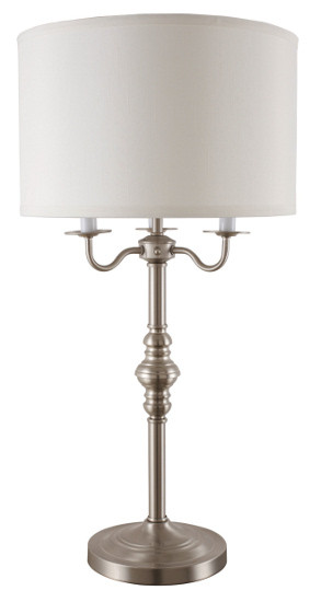 Lp6312td 295h brushed steel table lamp marshallsestore lp6312td 295h brushed steel table lamp aloadofball Image collections