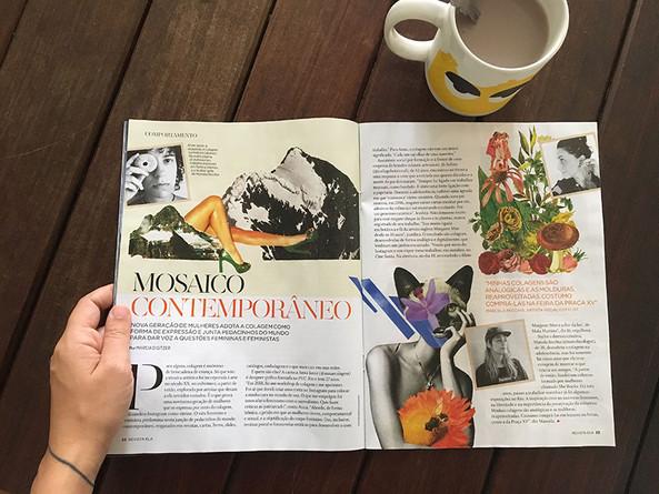 [2019] Revista Ela, O Globo - Entrevista coletiva