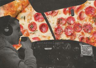 Pizza, 2018, 11,7x16,2cm