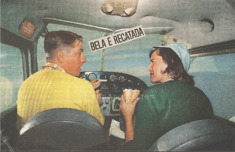 Bela e Recadada, 2018, 10,5x16,5cm