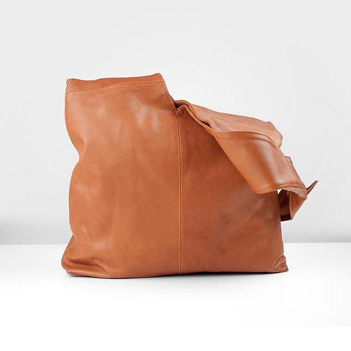 Whiskey shoulder bag, tied