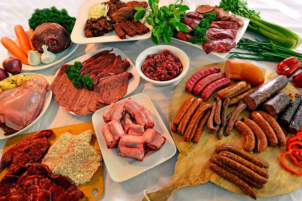 Orroroo Kangaroo Meat Product Range