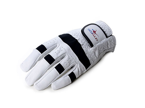 Kangaroo Leather Golf Glove - White