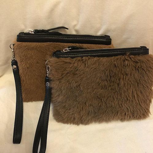Putri Tina fur pouch