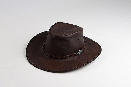 Overlander Outback Kangaroo Leather Hat