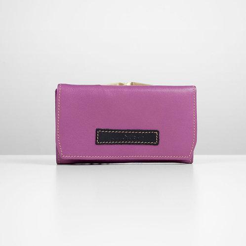 Purple petite purse
