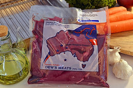 Orroroo Kangaroo Meat Rump Packaged