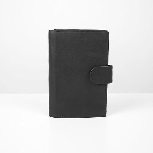 Black grande wallet