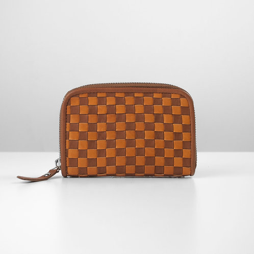 Two-tone Weave coin purse