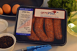 Orroroo Kangaroo Meat Chilli Con Carne Sausages