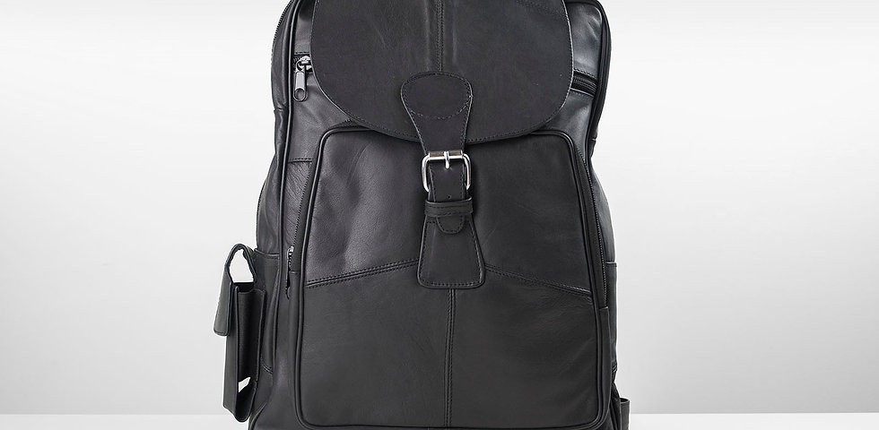 Black Travel backpack