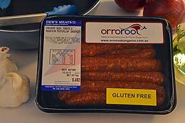 Orroroo Kangaroo BBQ Meat Sausages