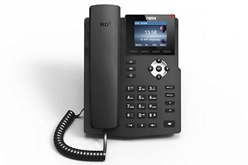 Téléphone IP LCD HD à 2 lignes