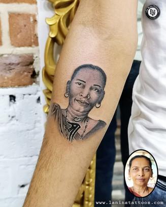 Portrait Tattoo | La Nina Tattoos | Best tattoo studio in ahmedabad| Best tattoo artist | Gujarat | India