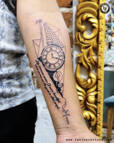 Concept Forearm Tattoo | La Nina Tattoos | Best tattoo studio in ahmedabad| Best tattoo artist | Gujarat | India