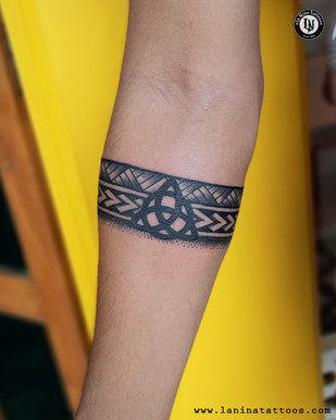 Armband Tattoo | La Nina Tattoos | Best tattoo studio in ahmedabad| Best tattoo artist | Gujarat | India