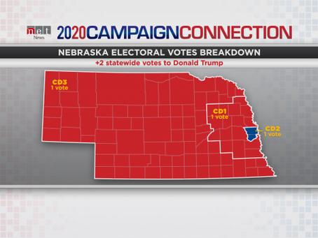Biden Takes Electoral Vote In 2nd District, Trump Wins Nebraska's 4 Other Votes