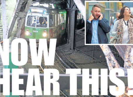 Boston Herald: NOW HEAR THIS: Noisiest spot in Boston a real earache at MBTA stop