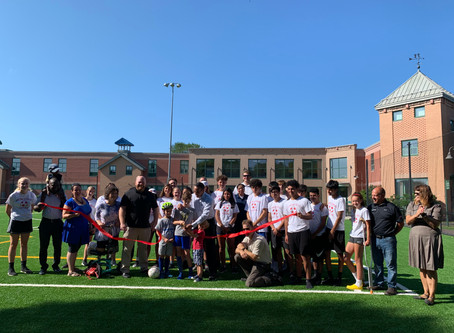Renovated Capuano Field now open