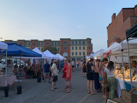 The appeal of the Winter Hill Night Market