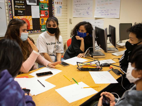 'I Might Be Your Neighbor': After School Club Empowers Migrant Youth To Tell Their Stories