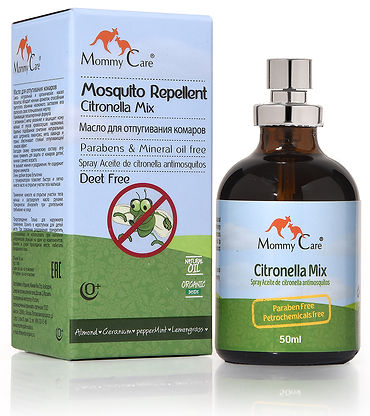 mosquito natural  repelent mommy care