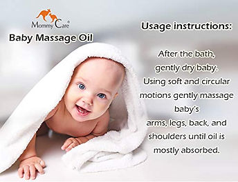 MOMMY CARE BABY MASSAGE OIL