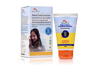 Babies and Children Mineral Sunscreen