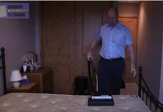 Deep Cleaning a Mattress by Cardiff Mattress Cleaning Company