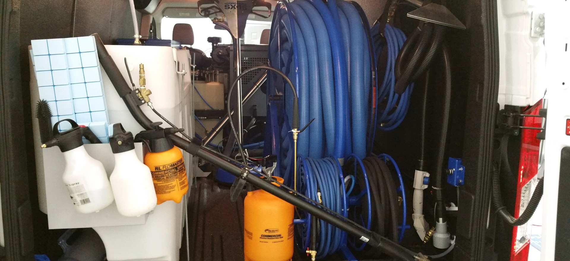 Steam Cleaning Hose & Equipment