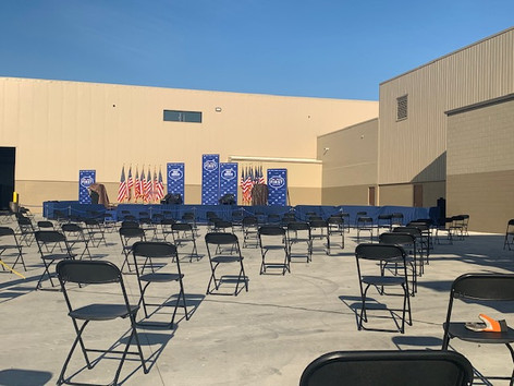 Chairs & Stage Rental For Political Event