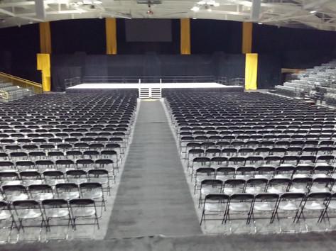 Graduation Seating Rental In Livonia Michigan