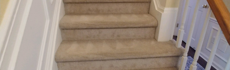 Steam Cleaned Stairs In Milford Michigan