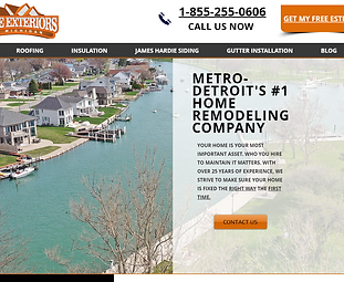 Home Exteriors of Michigan Contractor Marketing