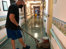 Nursing Home Floor Cleaning Services