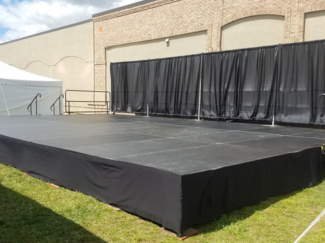 Dance Stage Rental