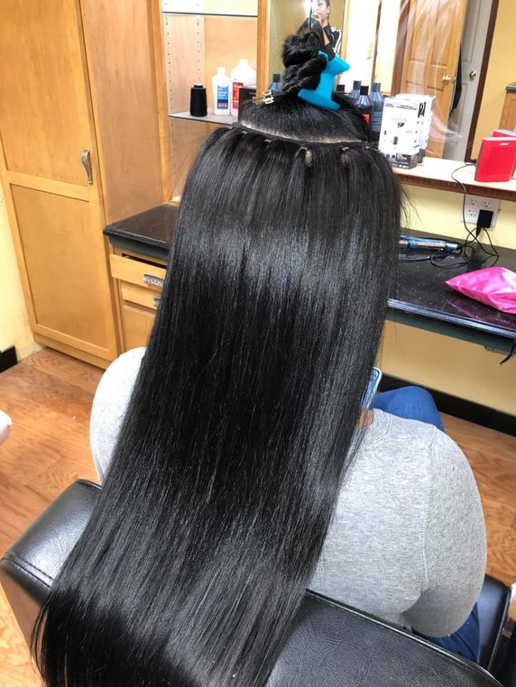 Hair Extensions Install - Y & J Dolls