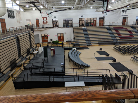 Commencement Stage Rentals