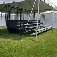 Bleacher and Tent Rental