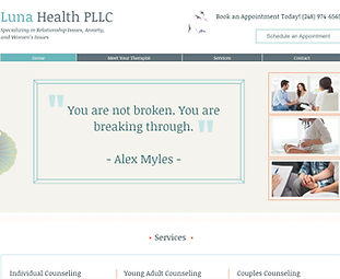 SEO & Web Design For Therapists