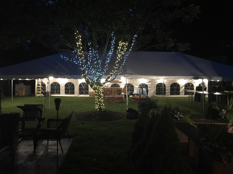 Private Party Tent Rental In West Bloomfield MI