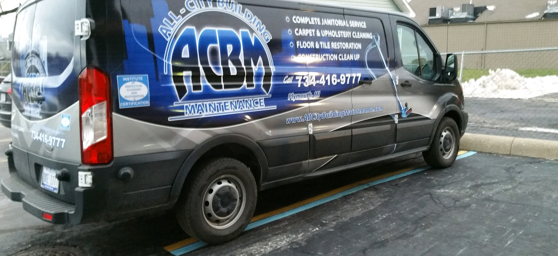 Truck/Van Mounted Steam Cleaner