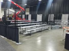Bleacher Rental For Expo