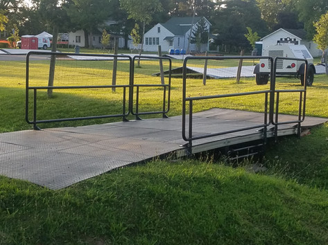 Rent Event Bridge For Ditch