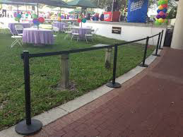 Retractable Stanchion Rentals In Michigan