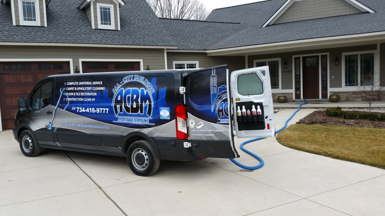 South Lyon Carpet Cleaning Truck