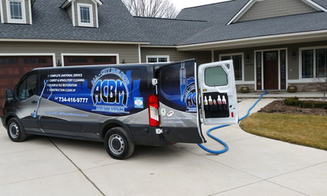 South Lyon Carpet Cleaning Truck - Farmington Hills, MI