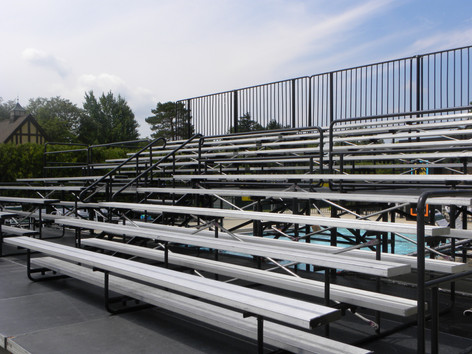 Bleacher Rental For Meadowbrook Country Club