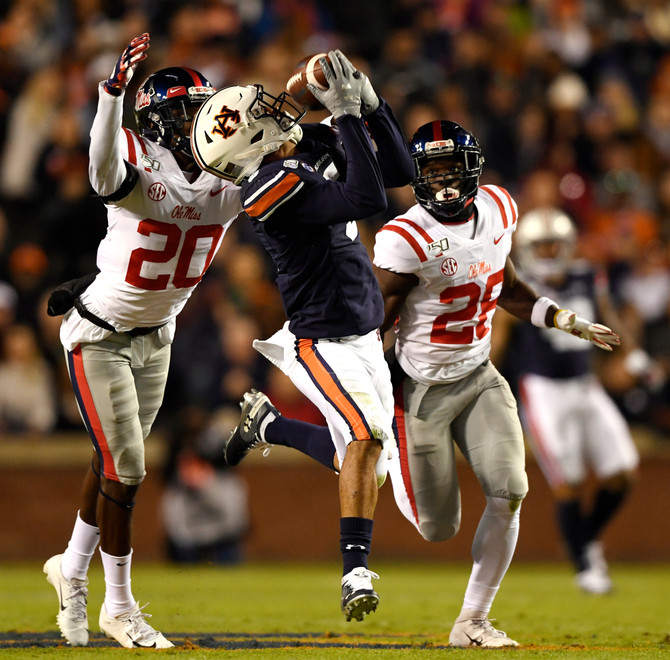 SportsCall Recap: Auburn wins 20-14 over Ole Miss